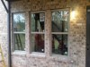 Atlanta Builders and Remodeling installed windows into a brick wall - After